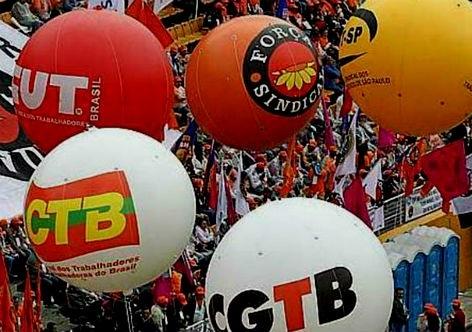 Resultado de imagem para Greve geral, centrais sindicais contra o Brasil